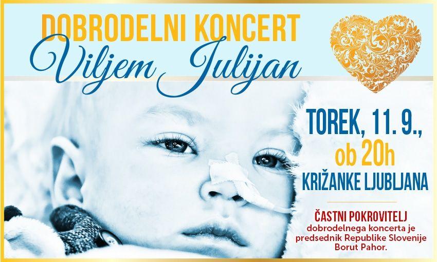 Dobrodelni koncert Viljem Julijan